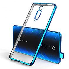Coque Ultra Fine TPU Souple Housse Etui Transparente H01 pour Xiaomi Mi 9T Bleu
