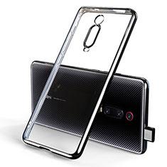 Coque Ultra Fine TPU Souple Housse Etui Transparente H01 pour Xiaomi Mi 9T Pro Noir