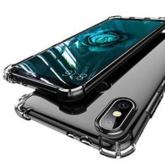 Coque Ultra Fine TPU Souple Housse Etui Transparente H01 pour Xiaomi Mi A2 Gris