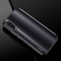 Coque Ultra Fine TPU Souple Housse Etui Transparente H01 pour Xiaomi Mi A3 Noir