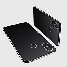 Coque Ultra Fine TPU Souple Housse Etui Transparente H01 pour Xiaomi Mi Max 3 Noir