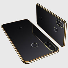 Coque Ultra Fine TPU Souple Housse Etui Transparente H01 pour Xiaomi Mi Max 3 Or
