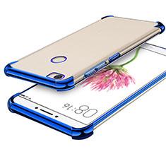 Coque Ultra Fine TPU Souple Housse Etui Transparente H01 pour Xiaomi Mi Max Bleu