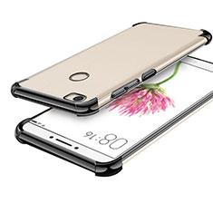 Coque Ultra Fine TPU Souple Housse Etui Transparente H01 pour Xiaomi Mi Max Noir