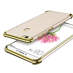 Coque Ultra Fine TPU Souple Housse Etui Transparente H01 pour Xiaomi Mi Max Or