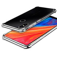 Coque Ultra Fine TPU Souple Housse Etui Transparente H01 pour Xiaomi Mi Mix 2S Argent