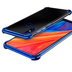 Coque Ultra Fine TPU Souple Housse Etui Transparente H01 pour Xiaomi Mi Mix 2S Bleu