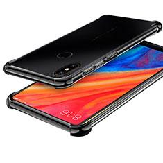 Coque Ultra Fine TPU Souple Housse Etui Transparente H01 pour Xiaomi Mi Mix 2S Noir