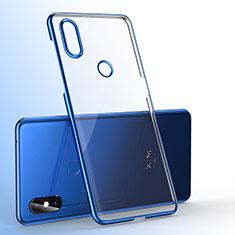 Coque Ultra Fine TPU Souple Housse Etui Transparente H01 pour Xiaomi Mi Mix 3 Bleu