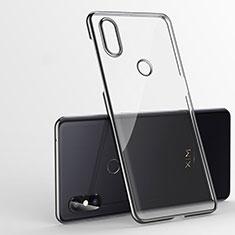 Coque Ultra Fine TPU Souple Housse Etui Transparente H01 pour Xiaomi Mi Mix 3 Noir