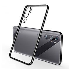 Coque Ultra Fine TPU Souple Housse Etui Transparente H01 pour Xiaomi Mi Note 10 Pro Noir