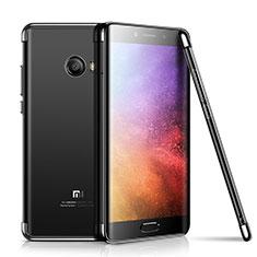 Coque Ultra Fine TPU Souple Housse Etui Transparente H01 pour Xiaomi Mi Note 2 Noir