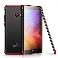 Coque Ultra Fine TPU Souple Housse Etui Transparente H01 pour Xiaomi Mi Note 2 Rouge