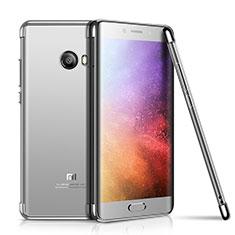 Coque Ultra Fine TPU Souple Housse Etui Transparente H01 pour Xiaomi Mi Note 2 Special Edition Argent