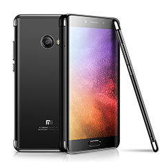 Coque Ultra Fine TPU Souple Housse Etui Transparente H01 pour Xiaomi Mi Note 2 Special Edition Noir