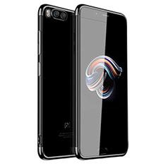 Coque Ultra Fine TPU Souple Housse Etui Transparente H01 pour Xiaomi Mi Note 3 Noir