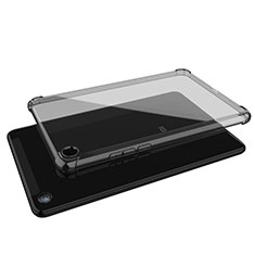 Coque Ultra Fine TPU Souple Housse Etui Transparente H01 pour Xiaomi Mi Pad 4 Gris