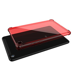 Coque Ultra Fine TPU Souple Housse Etui Transparente H01 pour Xiaomi Mi Pad 4 Rouge