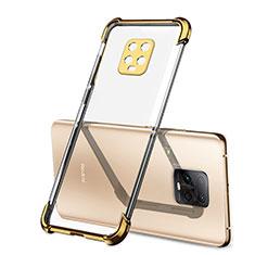 Coque Ultra Fine TPU Souple Housse Etui Transparente H01 pour Xiaomi Redmi 10X Pro 5G Or
