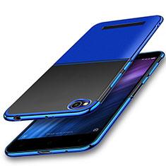 Coque Ultra Fine TPU Souple Housse Etui Transparente H01 pour Xiaomi Redmi 4A Bleu