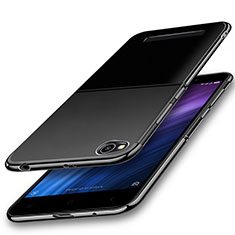 Coque Ultra Fine TPU Souple Housse Etui Transparente H01 pour Xiaomi Redmi 4A Noir
