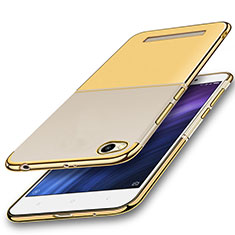 Coque Ultra Fine TPU Souple Housse Etui Transparente H01 pour Xiaomi Redmi 4A Or