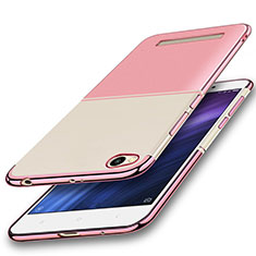 Coque Ultra Fine TPU Souple Housse Etui Transparente H01 pour Xiaomi Redmi 4A Rose