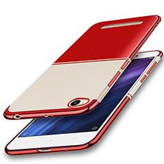 Coque Ultra Fine TPU Souple Housse Etui Transparente H01 pour Xiaomi Redmi 4A Rouge