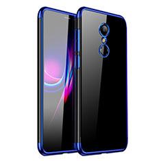 Coque Ultra Fine TPU Souple Housse Etui Transparente H01 pour Xiaomi Redmi 5 Bleu