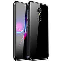 Coque Ultra Fine TPU Souple Housse Etui Transparente H01 pour Xiaomi Redmi 5 Noir