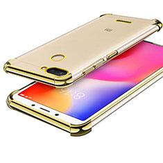 Coque Ultra Fine TPU Souple Housse Etui Transparente H01 pour Xiaomi Redmi 6 Or