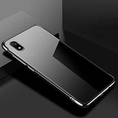 Coque Ultra Fine TPU Souple Housse Etui Transparente H01 pour Xiaomi Redmi 7A Noir