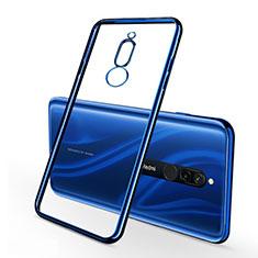 Coque Ultra Fine TPU Souple Housse Etui Transparente H01 pour Xiaomi Redmi 8 Bleu
