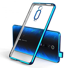 Coque Ultra Fine TPU Souple Housse Etui Transparente H01 pour Xiaomi Redmi K20 Bleu