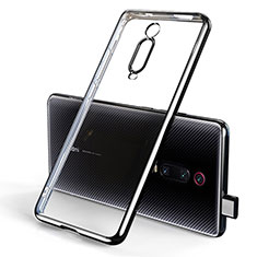 Coque Ultra Fine TPU Souple Housse Etui Transparente H01 pour Xiaomi Redmi K20 Noir
