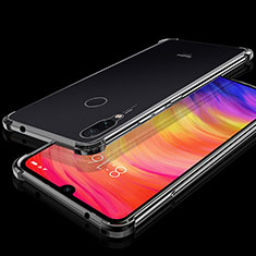 Coque Ultra Fine TPU Souple Housse Etui Transparente H01 pour Xiaomi Redmi Note 7 Noir