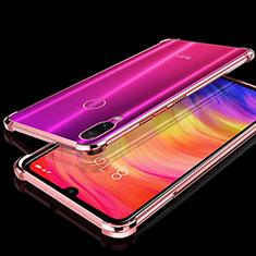 Coque Ultra Fine TPU Souple Housse Etui Transparente H01 pour Xiaomi Redmi Note 7 Or Rose