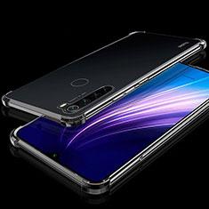 Coque Ultra Fine TPU Souple Housse Etui Transparente H01 pour Xiaomi Redmi Note 8T Noir