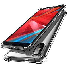 Coque Ultra Fine TPU Souple Housse Etui Transparente H01 pour Xiaomi Redmi Y2 Gris