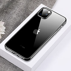 Coque Ultra Fine TPU Souple Housse Etui Transparente H02 pour Apple iPhone 11 Pro Max Noir