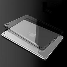 Coque Ultra Fine TPU Souple Housse Etui Transparente H02 pour Apple New iPad 9.7 (2017) Noir