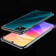 Coque Ultra Fine TPU Souple Housse Etui Transparente H02 pour Huawei Enjoy 20 5G Noir