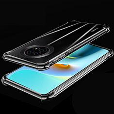 Coque Ultra Fine TPU Souple Housse Etui Transparente H02 pour Huawei Enjoy 20 Plus 5G Noir