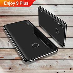 Coque Ultra Fine TPU Souple Housse Etui Transparente H02 pour Huawei Enjoy 9 Plus Noir