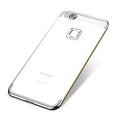 Coque Ultra Fine TPU Souple Housse Etui Transparente H02 pour Huawei GR3 (2017) Argent