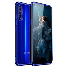 Coque Ultra Fine TPU Souple Housse Etui Transparente H02 pour Huawei Honor 20 Bleu