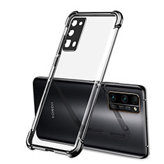 Coque Ultra Fine TPU Souple Housse Etui Transparente H02 pour Huawei Honor 30 Pro Noir