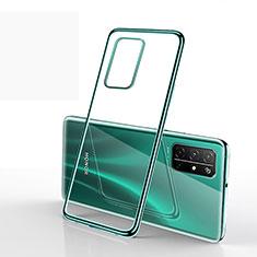 Coque Ultra Fine TPU Souple Housse Etui Transparente H02 pour Huawei Honor 30S Vert
