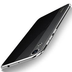 Coque Ultra Fine TPU Souple Housse Etui Transparente H02 pour Huawei Honor 8A Argent