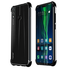 Coque Ultra Fine TPU Souple Housse Etui Transparente H02 pour Huawei Honor 8X Noir
